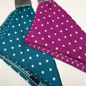 Nordstrom Accessories - Silk Pocket Squares